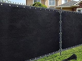 AofeiGa 6 A50  Privacy Fence Screen Heavy Duty UV Protection Mesh Deck Patio Backyard Outdoor Fence Cover 180 GSM