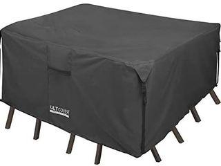 Ultcover 600d Tough Canvas Durable Rectangular 111 l x74 w  Black