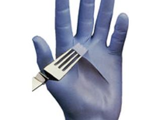 Showa Best 7005 N Dex Nitrile Glove  lightly Powdered  9 5  length  4 mils Thick  X large  Pack of 100