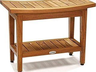 Aqua Teak Bamboo Shower Bench