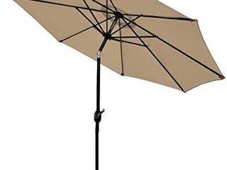 Sunnyglade 9Ft Patio Umbrella Outdoor Table Umbrella with 8 Sturdy Ribs