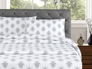 Arwen 250 Thread Count Cotton Percale Full Bed Sheet Set