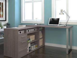 Bestar Solay l Shaped Desk  Retail 513 49
