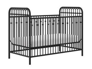 little Seeds Monarch Hill Ivy Metal Crib  Retail 204 99