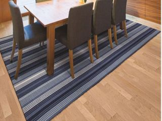 8ft x 10ft Maine Stay Freeport Blueberry Crush Reversible Area Rug Retail  227 99