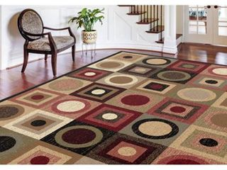 Alise Rugs Rhythm Contemporary Geometric Area Rug 8 9  in x 12 3 in  Retail  139 99