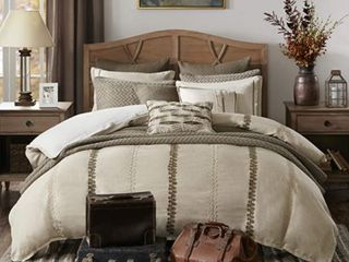 Madison Park Signature Chateau King 9 Piece Comforter Set Bedding  Retail 326 98