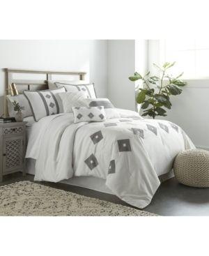 Queen  Grand Avenue Kamile 7 Piece Comforter Set  Retail 87 99