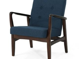 Brayden Mid Century Fabric Club Chair by Christopher Knight Home  Retail 212 99