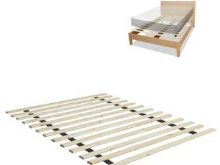 Onetan 0 75 inch Heavy Duty Mattress Support Wooden Bunkie Board   Slats with Cover  Twin Xl