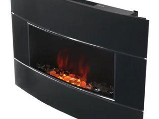 Bionaire Black Electric Fireplace  Retail 317 49