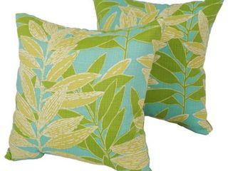 Montego 17 Inch Indoor Outdoor Throw Pillows  Set of 2