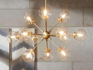 Carson Carrington Tova 12 light Sputnik Chandelier   Retail 292 99