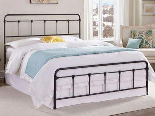 Kotter Home Zinnia Victorian Metal Iron Full Bed  Retail  336 99