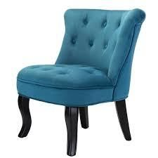 jane accent chair set of 2 velvet turquoise blue with dark brown legs