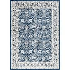 alise rug Carrington traditional floral blue 6x10 ft