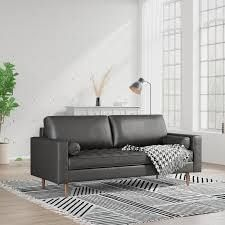sidna loveseat color home furniture black fabric
