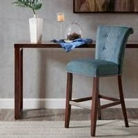 madison park weldon blue 30 inch bar stool 1 only