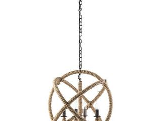 Modway Intention Chandelier  Brown