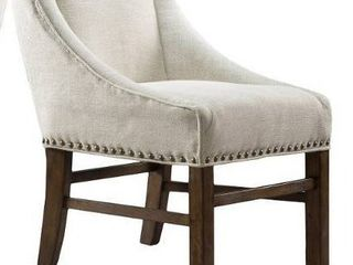 James Contemporary Fabric Upholstered Dining Chair 1 only natural by Christopher Knight Home