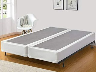 Mattress Solution Fully Assembled Split Wood Traditional Boxspring Foundation For Mattress  King  Tomorrow Dream Collection