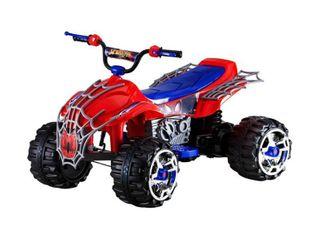 Kid Trax 12V Marvel Spider Man Sport ATV Powered Ride On   Red Blue
