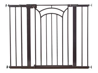 Safety 1st DAccor Easy Install Tall   Wide Baby Gate with Pressure Mount Fastening