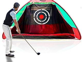 Gagalileo Golf Net Golf Hitting Net Golf Practice Nets for Backyard Driving Range Pop Up Golf Training Aid Automatic Ball Return for Indoor Outdoor with Target and Carry Bag Optional