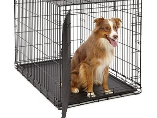 life Stages lS 1642 Single Door Folding Crate for large Dogs 71   90lbs