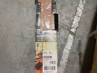 Achim Tivoli II Self Adhesive Vinyl Floor Planks   10 Planks 15 Sq  Ft  6 x 36  Redwood