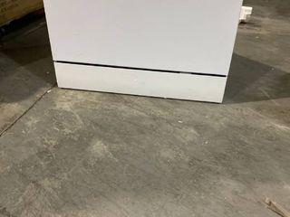 Danby Delay Start Countertop Dishwasher 6 Place Setting  White