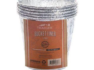 30 sets TRAEGER PEllET GRIllS llC 5PK AlU Bucket liner BAC407
