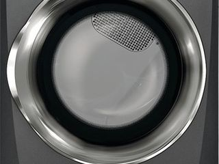 Electrolux 8 0 Cu  Ft  9 Cycle Electric Front load Dryer with Predictive Dryet Titanium
