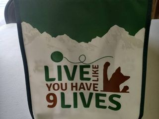 live like You Have 9 lives Bags