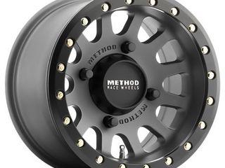 Method Race mr401 utv beadlock 15x7 4x156 13et 132mm titanium matte black wheel