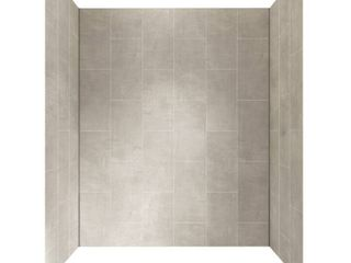 Foremost GFS603278 Jetcoat 60 in x 32 in X 78 in Five Panel Alcove Shower Wall Kit