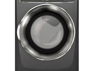 Electrolux 8 0 Cu  Ft  9 Cycle Electric Front load Dryer with Predictive Drya   Titanium
