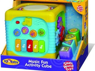 Small World Toys Iq Baby   Music Fun Activity Cube