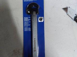 lenox 10in 16jn telescoping basin wrench with swivel head