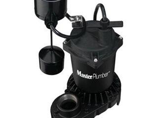 Pentair 176950 0 33 Horse Power Master Plumber Zinc Sump Pump