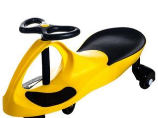 lil Rider Yellow Wiggle Car Ride On
