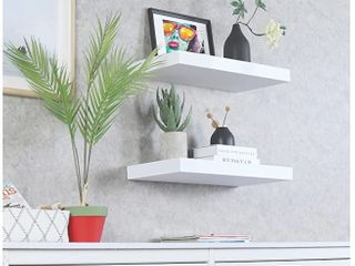 WEllAND 12  Deep White Floating Shelves