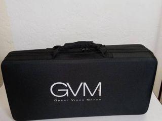 GVM 560 lED Video light with Case  Black