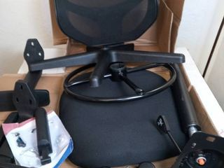 Drafting Chair  Black Mesh
