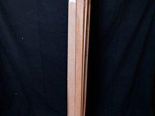 Vertical Wood Support Slats for Bed Frame 54in for full bed