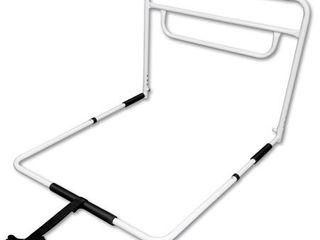 RMS Single Hand Bed Rail   Adjustable Height Bed Assist Rail  Bed Side Hand Rail   Fits King  Queen  Full   Twin Beds  Single Hand Rail