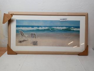 Beach Front View Painting