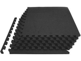 ProsourceFit Extra Thick Puzzle Exercise Mat 3 4  EVA Foam Tiles