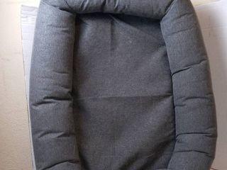 medium dog bed grey 25 w x 30 in l