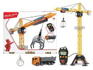 Dickie Toys 48  Mega Crane   Truck Vehicle   Playset